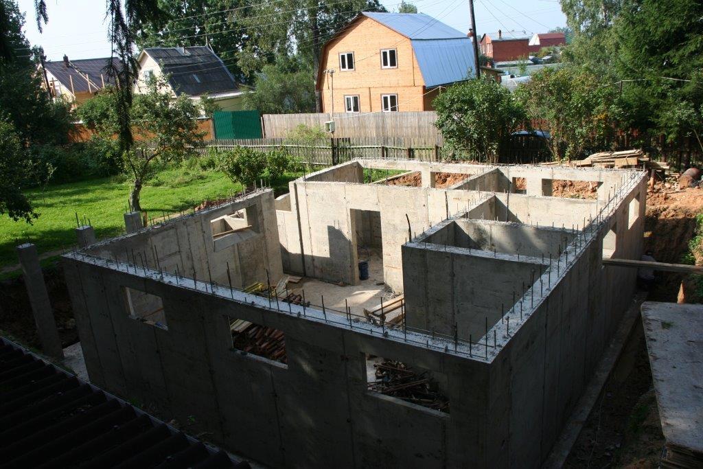 Работы по устройству фундамента в Химках