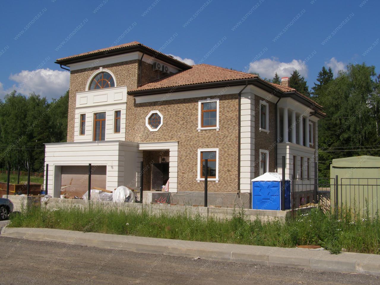 Пример смет на ремонт фасада